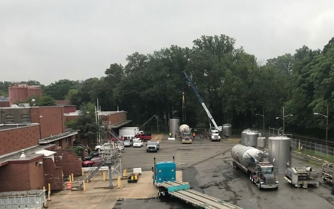 TURNKEY RIGGING AND DISMANTLING SERVICES FOR  FORMER OCEANSPRAY FACILITY – BORDENTOWN, NJ