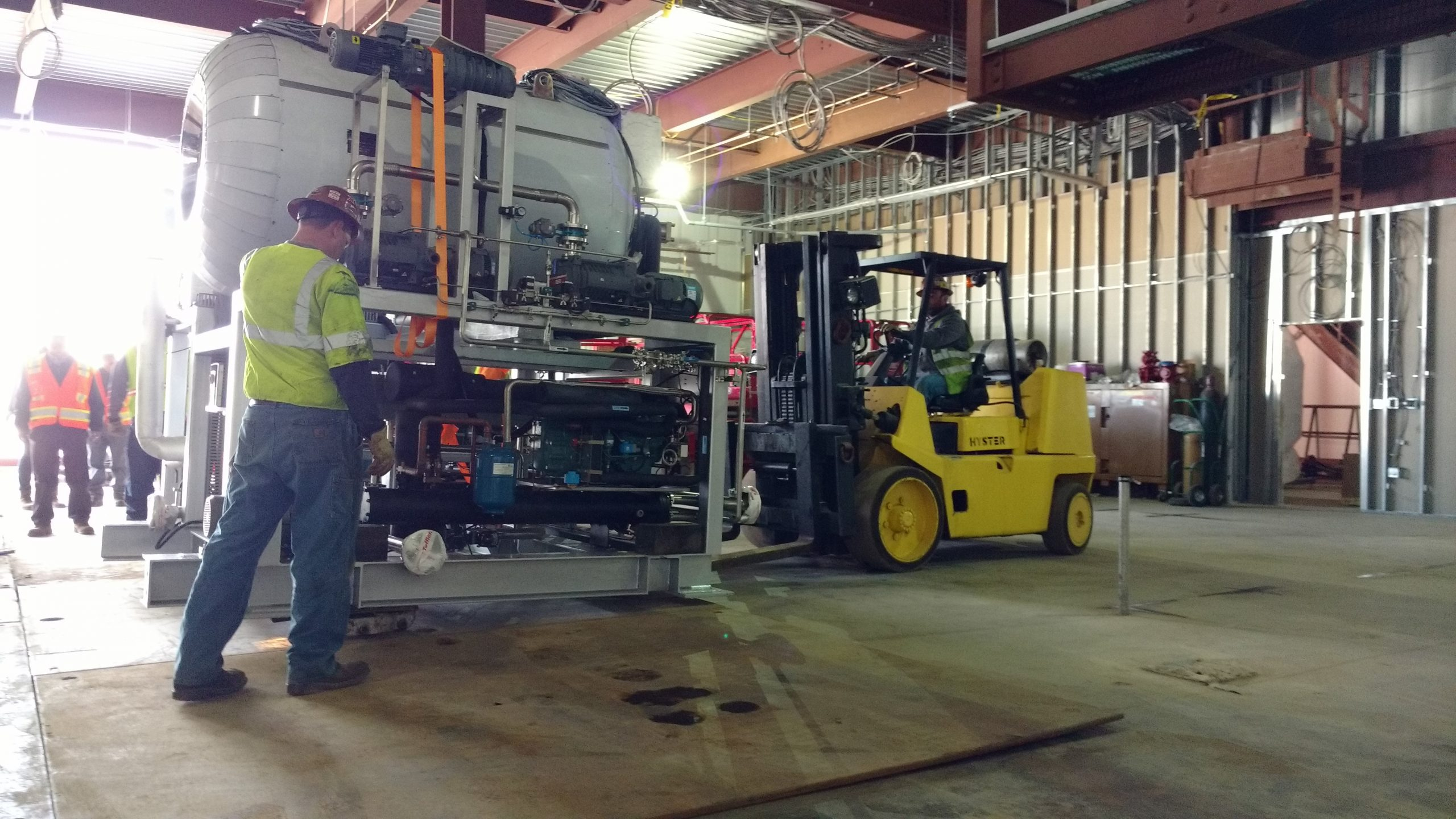 Heritage Performs Rigging, Millwright & Trucking Services for Global Pharmaceutical Company