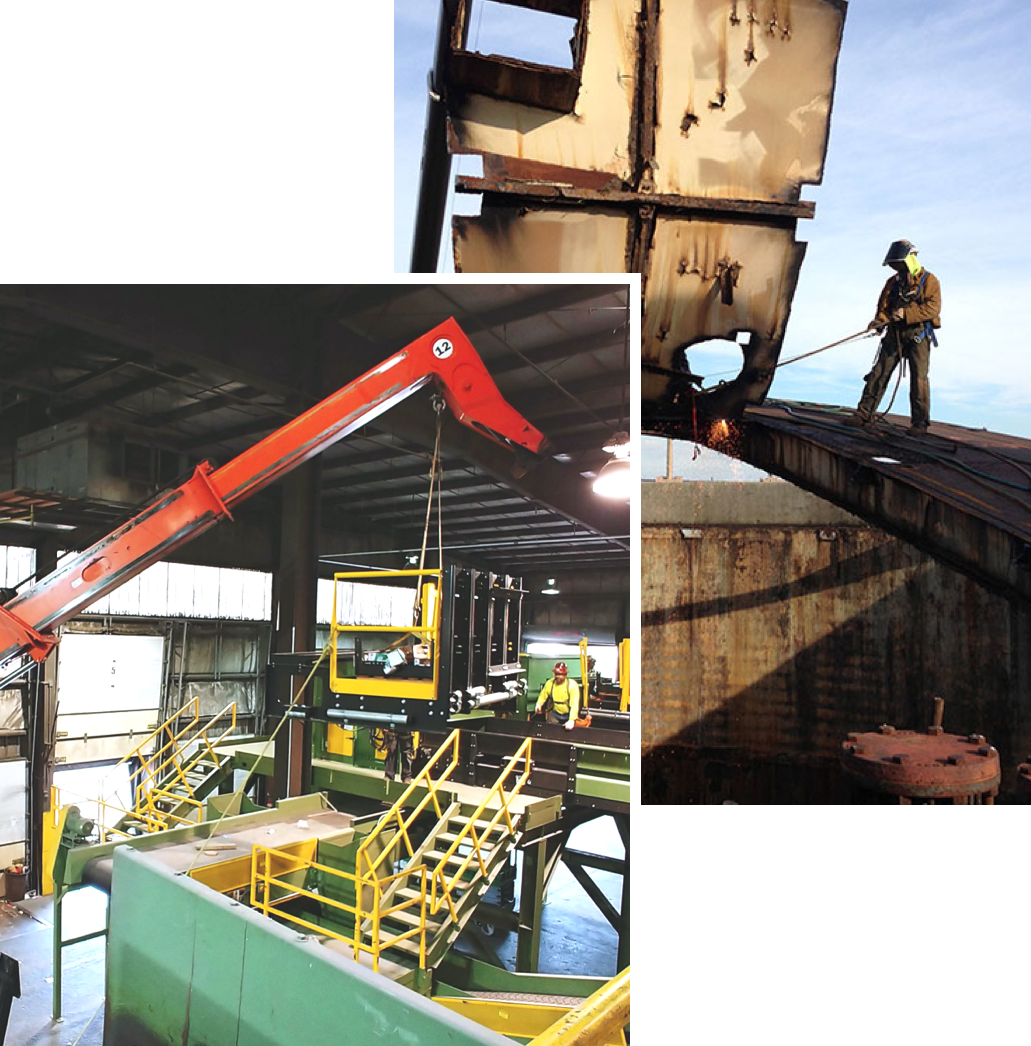 Rigging & Heavy Machinery Movers – Heritage Industrial Services